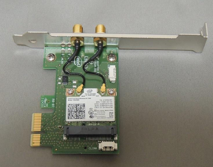 intel dual band wireless ac 7260 for desktop 7260hmwdtx1 r インテル