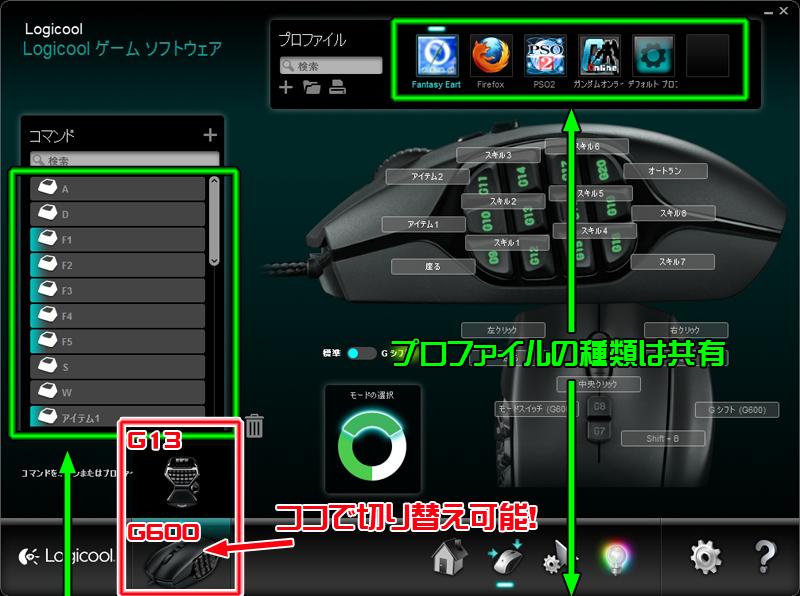 g13 プロファイル