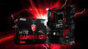MSI H170 GAMING M3 ~最高のオンラインゲームエクスペリエンスを実現~