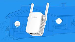 AC1200 無線LAN中継器 RE305 でおウチのWi-Fiの死角を解消!