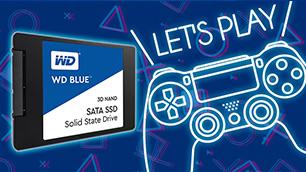 WD Blue 3D NAND SATA SSD ~PS4 の大容量&高速化を実現~