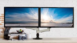 FLEMO モニターアーム ~オフィスや家庭のモニター環境を改善~