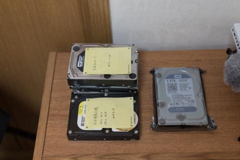 保管HDD