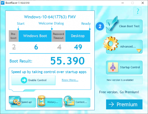 Windows起動時間