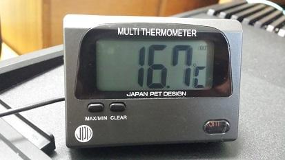 (OUT:筐体外の温度(室温))