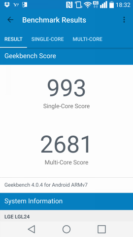 ▲Geekbench 4.0.4