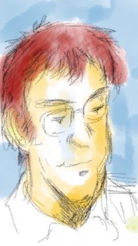 Skeches @ iPhone 5で描いたスケッチ
