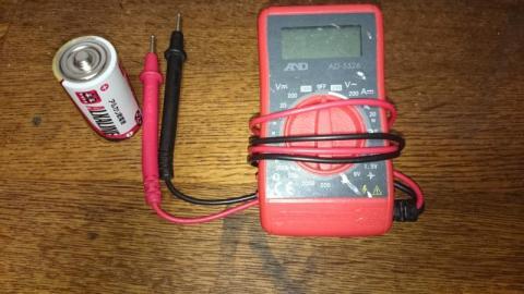単2電池との大きさ比較