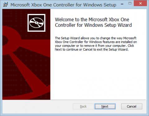 Xbox One Controllerのドライバについて - 思い付き …