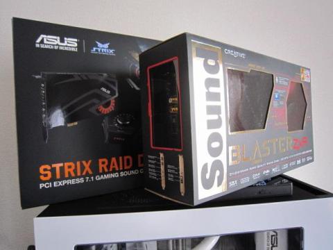 Sound Blaster ZxRのものと比較