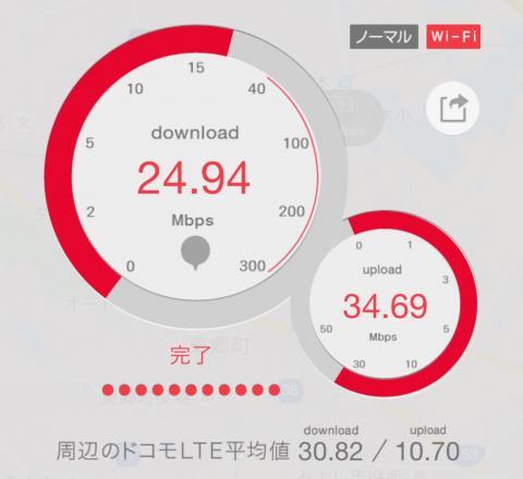 2.4Gの速度