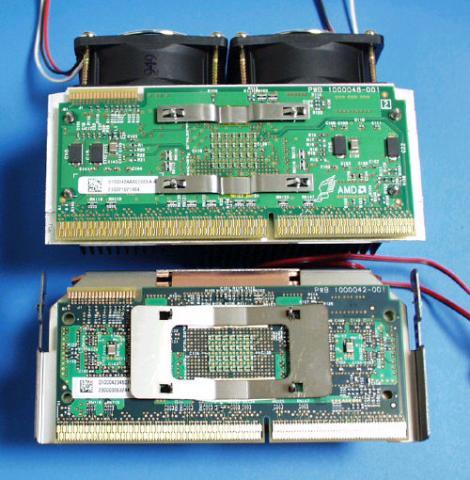 通称「殻割」Athlonのカバーを外し付属のCPUクーラーを外す
