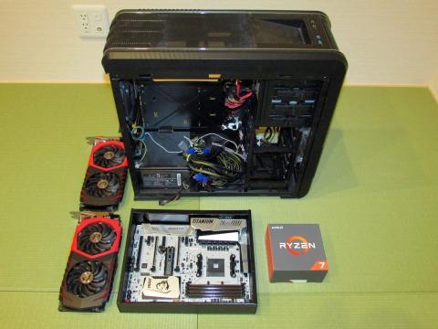 構築PCのパーツその1