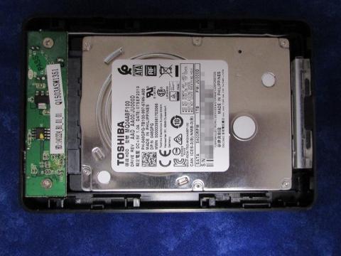 東芝製1TB HDD