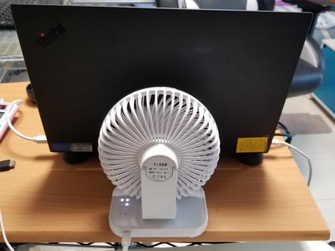 マルチモニターとExcelの多用で熱くなるCorei5PCを冷却