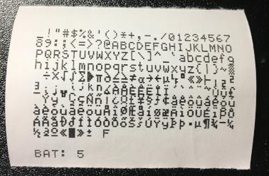 自己診断結果を印刷した紙
