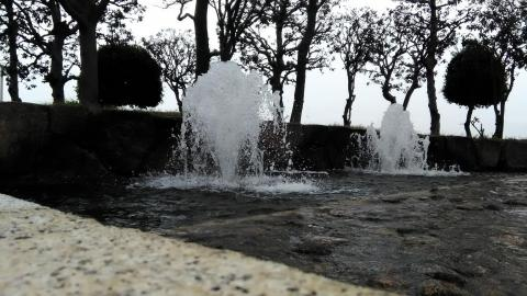 細かい水滴も撮影ができている