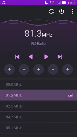 FM ラジオで番組を楽しむ場合はヘッドセットが必要
