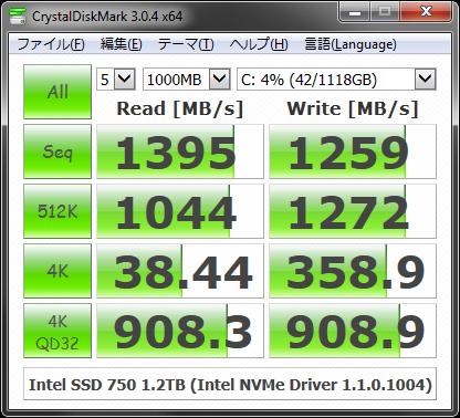 CrystalDiskMark 3.0.4