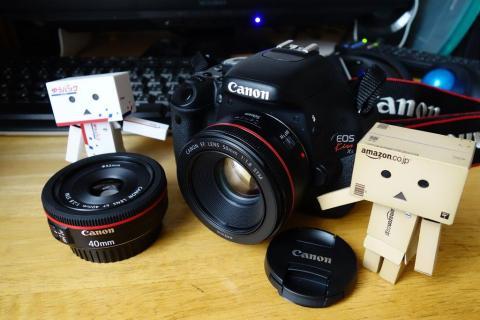 EF 40mm F2.8 STMと共に・・・