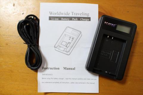 LP-E12用USB充電器