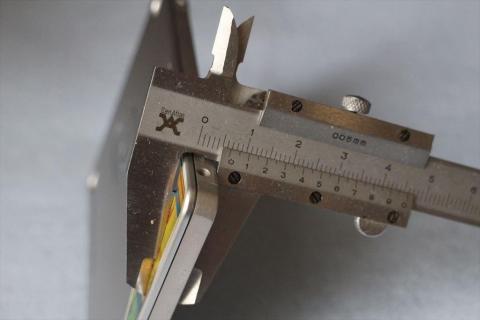 厚さは実測6.7mm