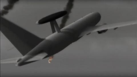 最終面「メガリス」動画内のE-767