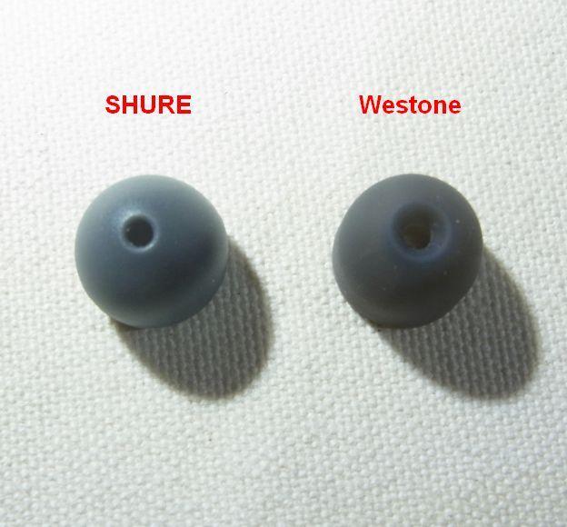Westoneの穴は大きく、しかも段付き