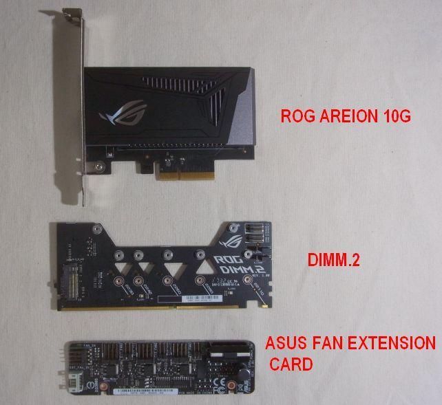 「ROG」ならではの特徴的なカード類