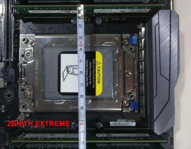 ...ZENITHは12cmはある(E-ATXの増加幅全力投入)