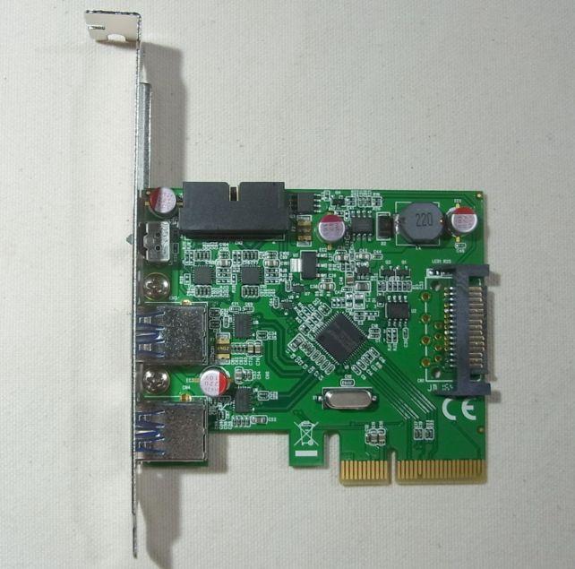 PCIeスロットは×4タイプ