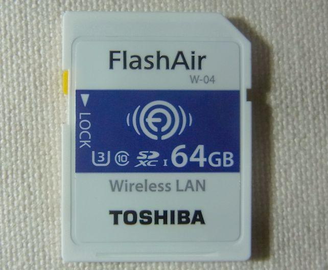 一見普通のSDカードで、特に特徴はない