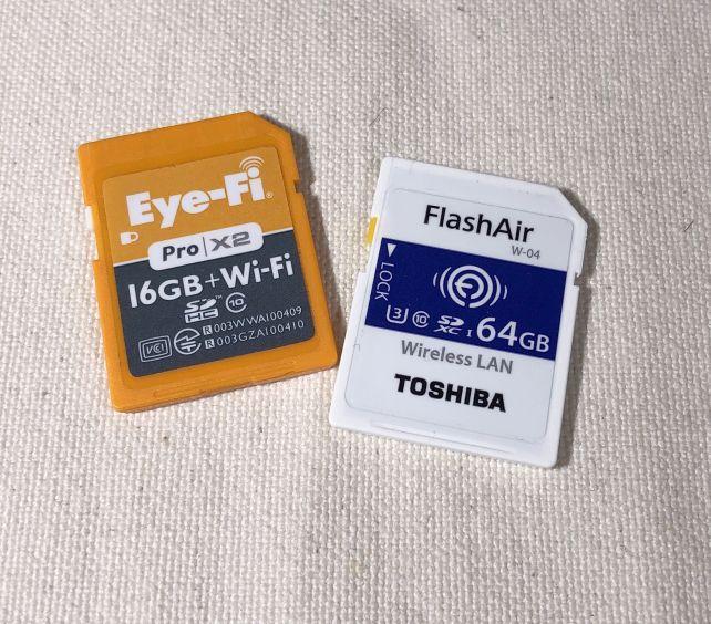 FlashAirがEye-Fiの便利さを超える日は来るのだろうか?