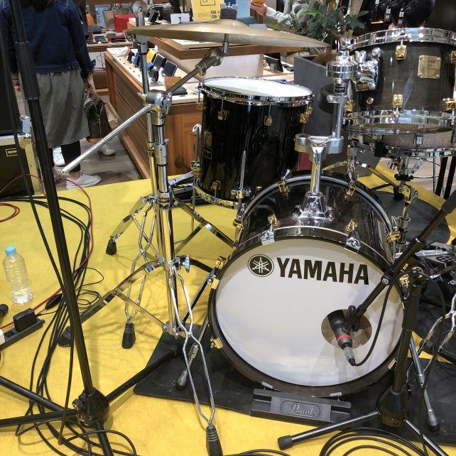 沙知さんの真正面ともいえるが、ドラムの真正面でもあったw
