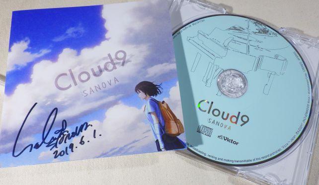 1stのジャケットは青空とモクモクとした雲