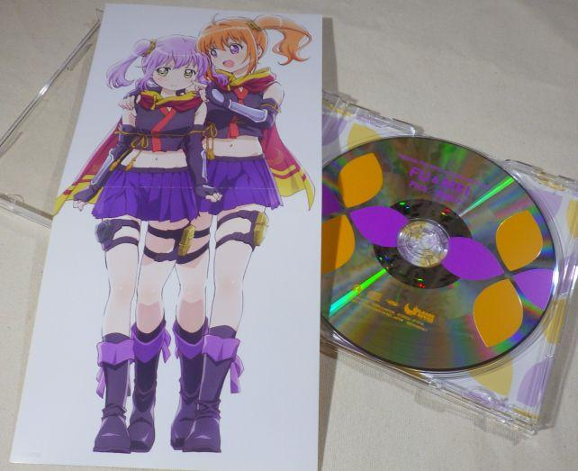 ちなみにこのシリーズのCDレーベル面には師弟のカラーが使われている