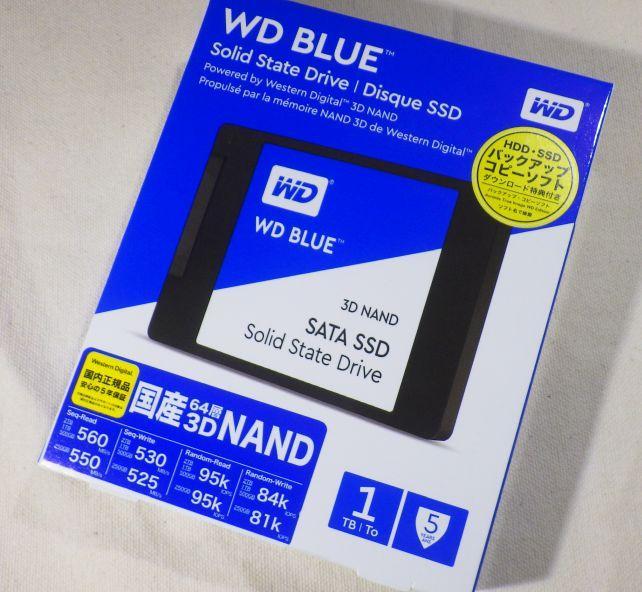 WDブランドのHDDはお初だな。