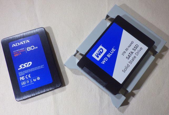 SSD入れ替え後