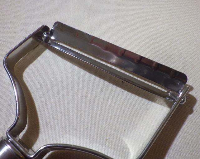 有効長75mmの刃は追随性も良い。