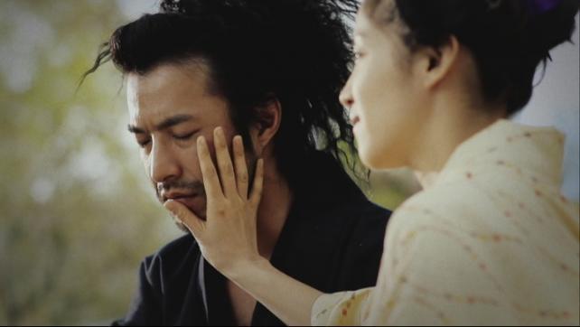盲目の娘を演じる広澤草の演技が光る