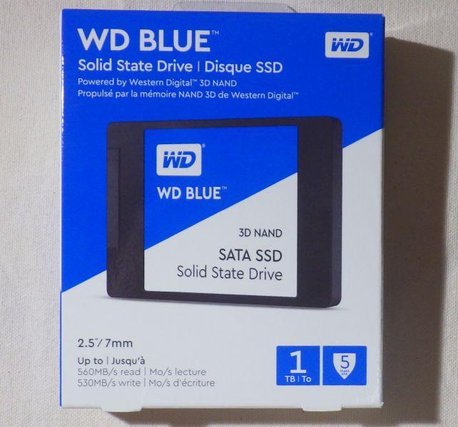 5年保証のメインストリームSSD、Blue