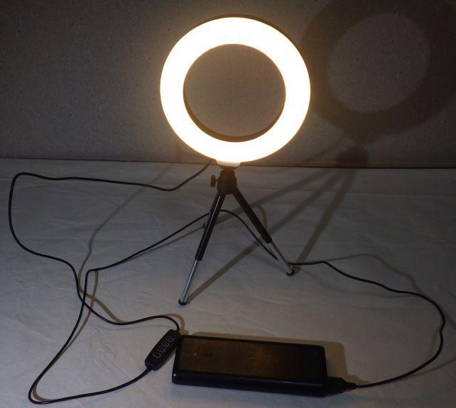電球色も光量最大にすると眩しいくらい