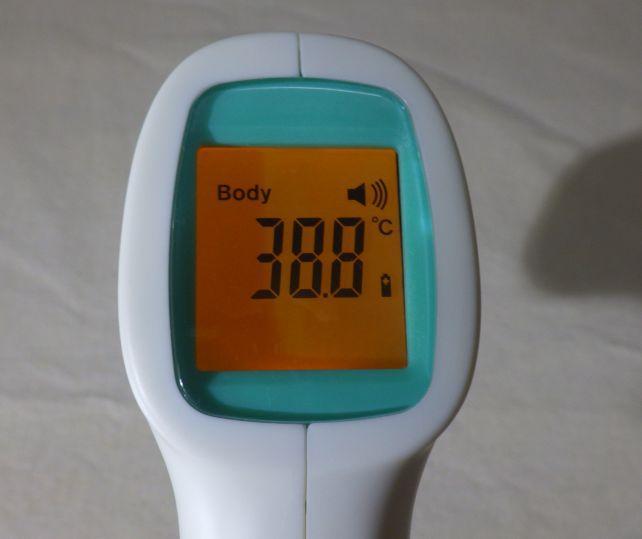 物体温度モード(Body)と...