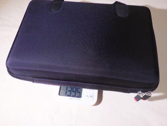 25鍵のMIDIキーボードが一番重く、ケース込み1395g