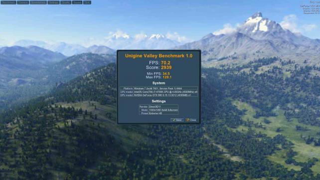 Valley Benchmark GTX980