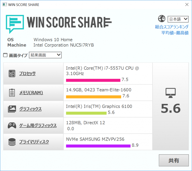 WinScoreShare 2.08