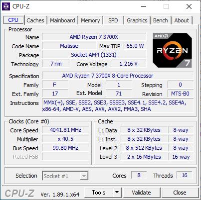 CPU-Z : CPU