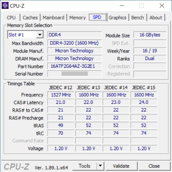 CPU-Z:SPD