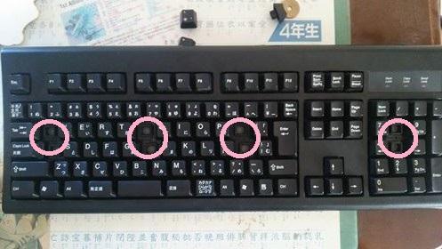 ネタ的に買ってみました(完全版!) - Chicony 日本語108キー PS/2キーボード メンブレン式 ブラック ...