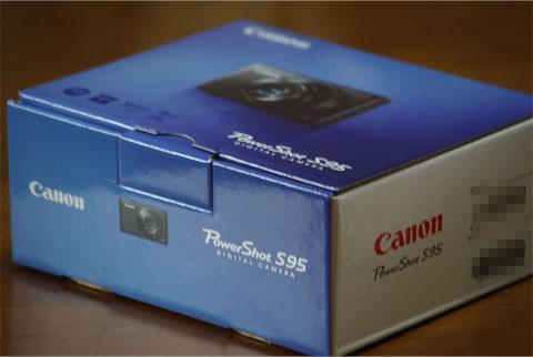 Powershot S95 箱